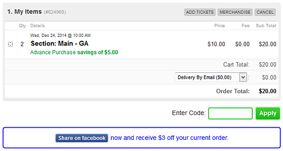 Incentivize Your Patrons to Promote Your Event on Facebook