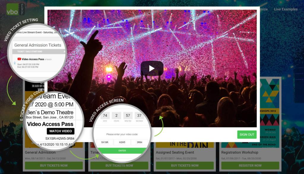 vendini alternative virtual events